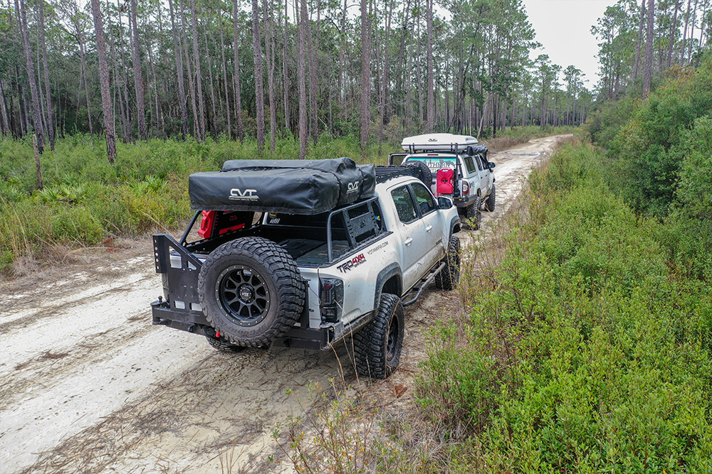 Bed Rack System for Overland Toyota Build