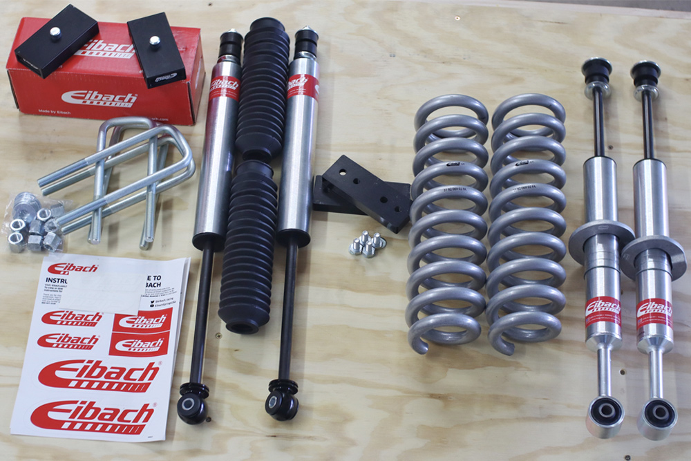 "The Eibach Pro-Truck Stage 1 Lift System Plus 1"" Rear Blocks Kit"