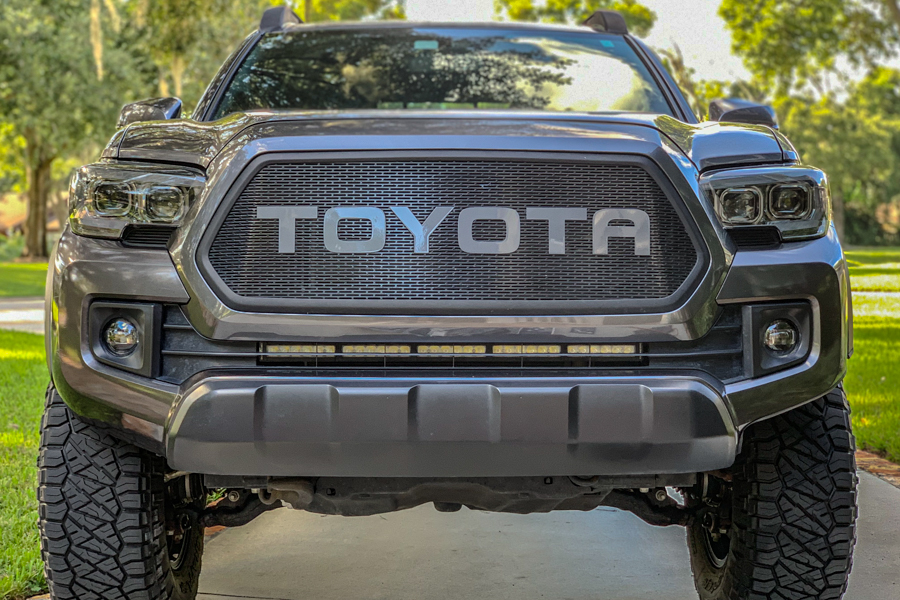 Cutting The Stock Bumper On Your 3rd Gen Tacoma - Before and After