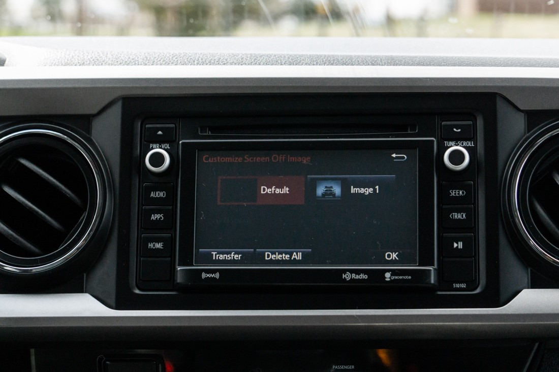 Customizing Your Display Startup & Screen Off Image - 3rd Gen Tacoma