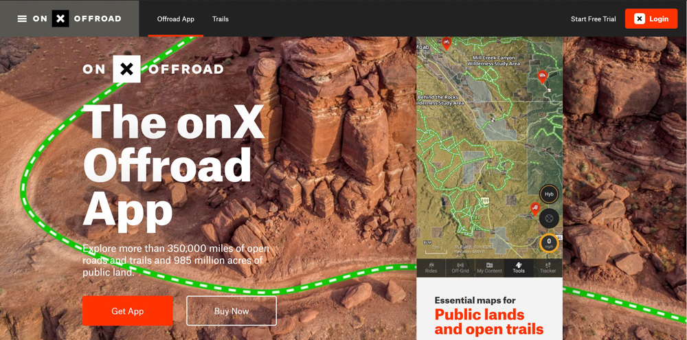 How To Find The Best Off-Road Trails - onX OffRoad App