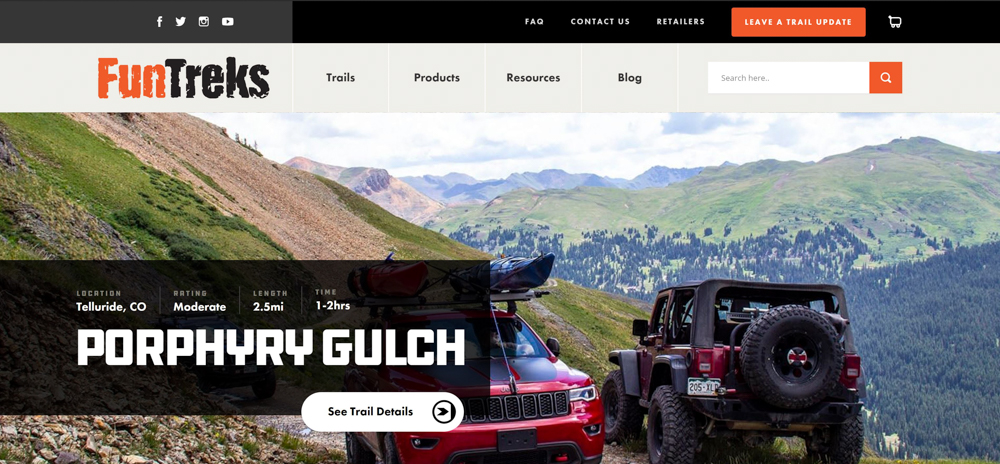How To Find The Best Off-Road Trails - FunTreks