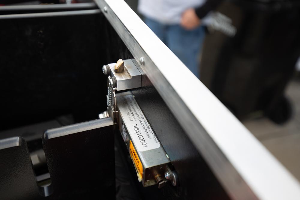 MobileStrong Drawer Kaba Lock on 3rd Gen Tacoma