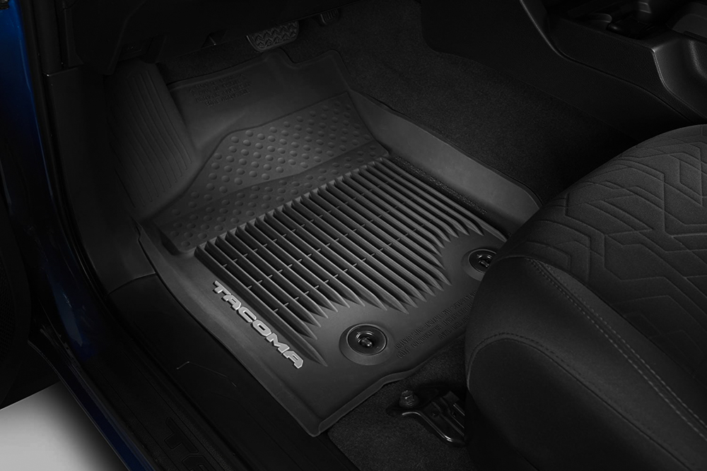 Toyota OEM All-Weather Front Floor Mats for 3rd Gen Tacoma