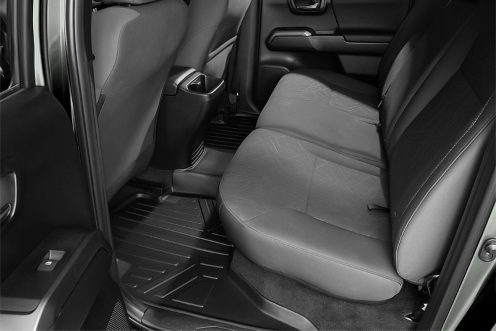 Rough Country Heavy Duty Rear Floor Mat for 3rd Gen Tacoma