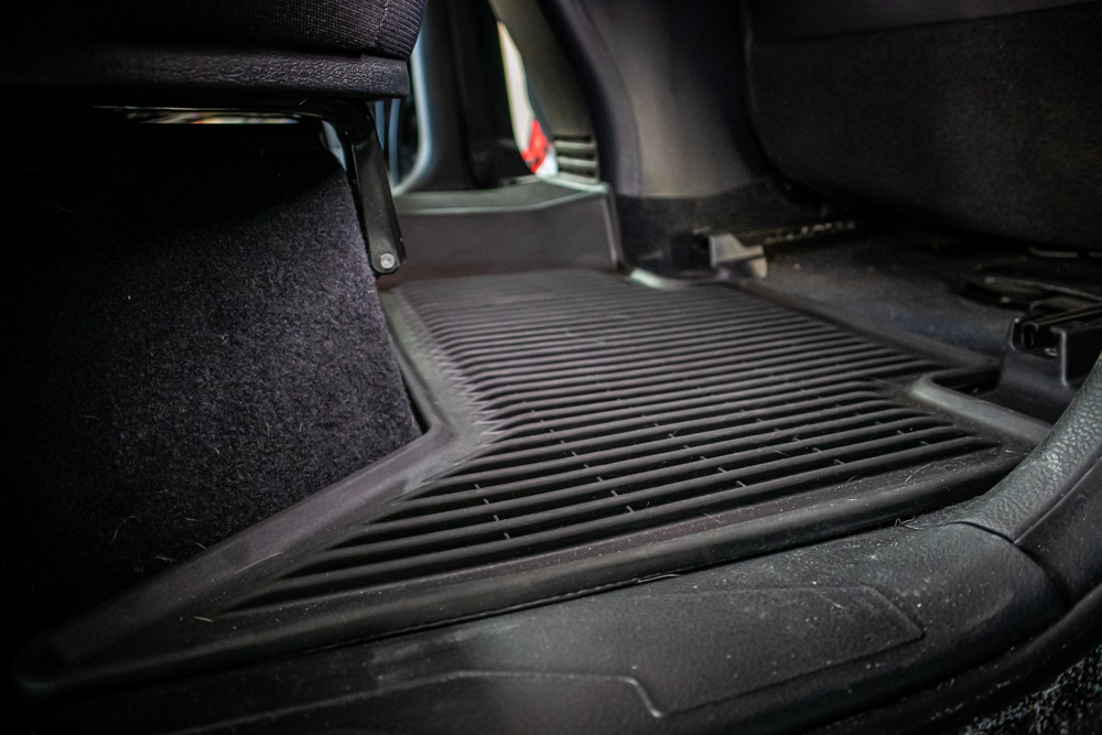 Toyota OEM All-Weather Rear Floor Mats for 3rd Gen Tacoma