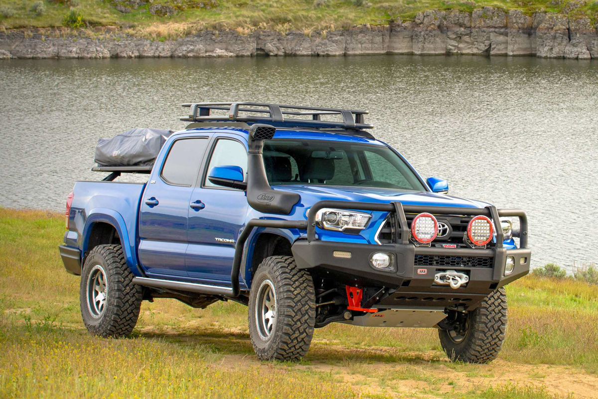 ARB Roof Rack on Double Cab 3rd Gen Tacoma