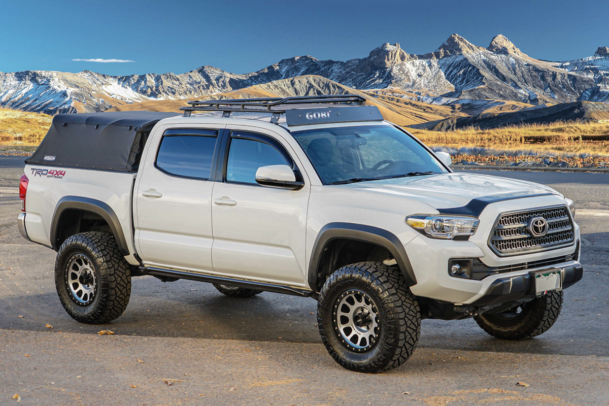 Gobi Stealth Rack on Double Cab 3rd Gen Tacoma