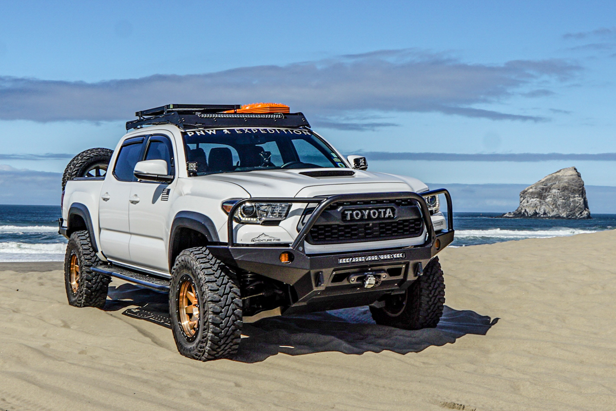 Prinsu Design Studio Roof Rack on Double Cab 3rd Gen Tacoma