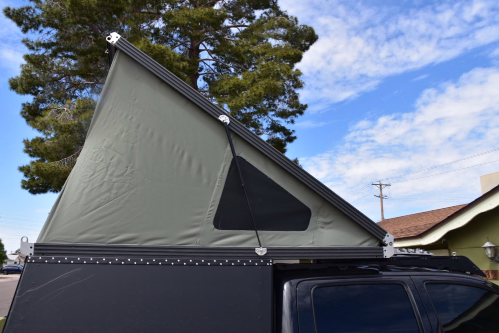 GFC - Go Fast Camper Open on 2nd Gen Tacoma
