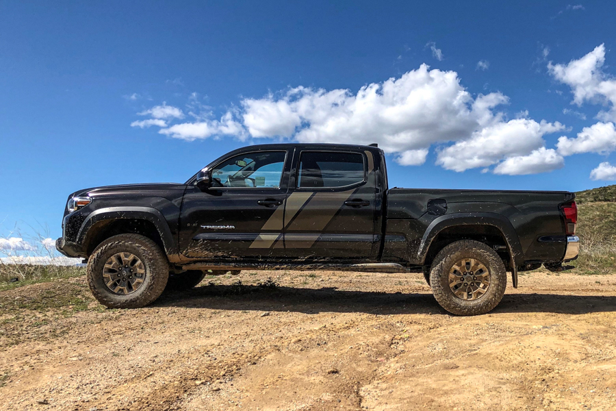 GOAT Truck Armor on Double Cab 3rd Gen Tacoma