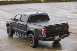 TravelPRO 65-Series Tri-Fold Tonneau Bed Cover on 3rd Gen Tacoma