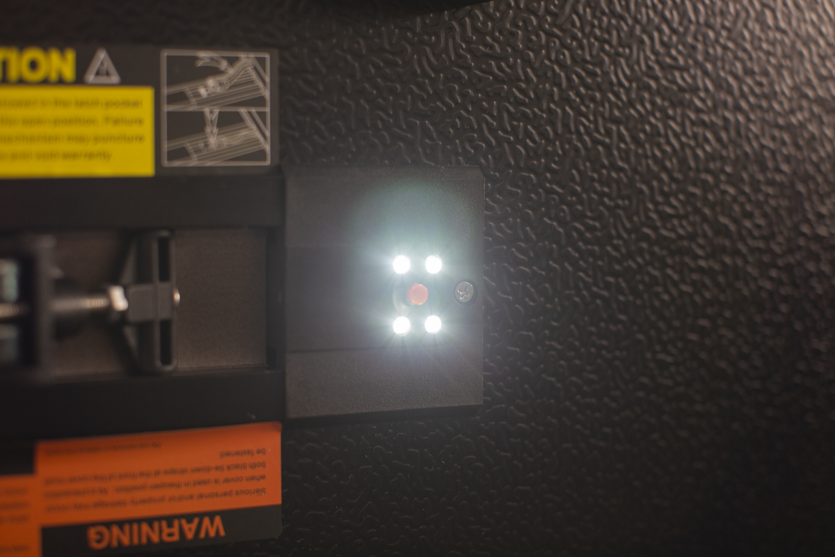 Tri-Folding Tonneau Cover LED Light