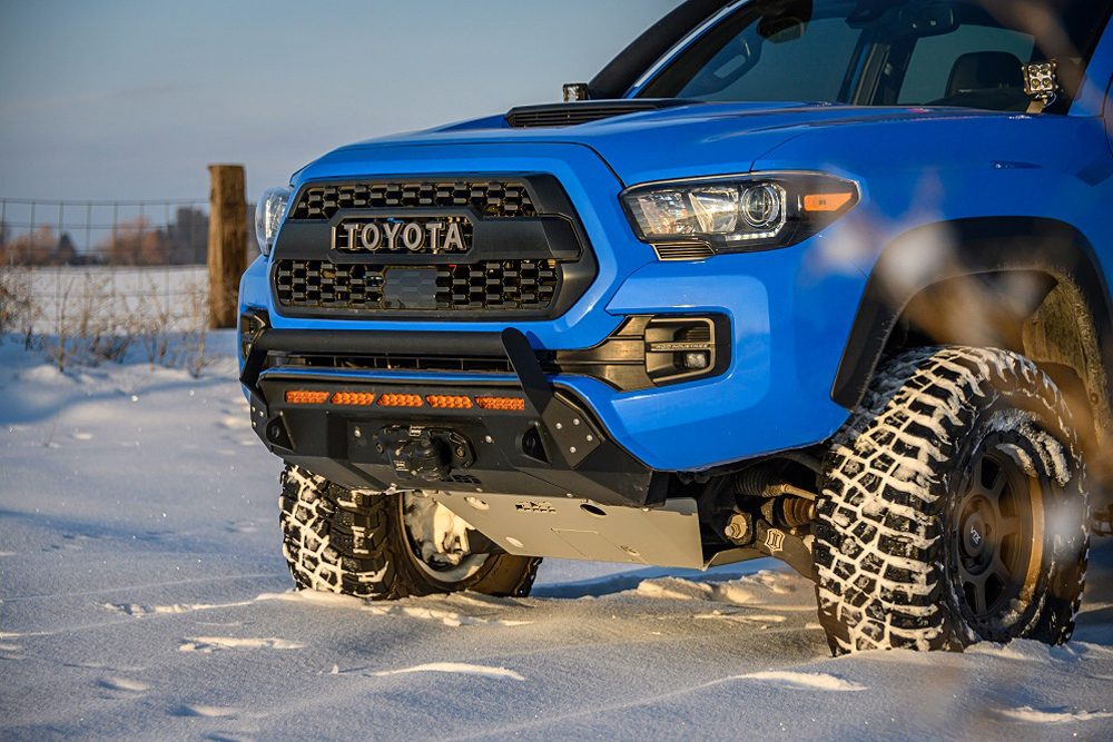 Covert Series Front Bumper on 3rd Gen Tacoma