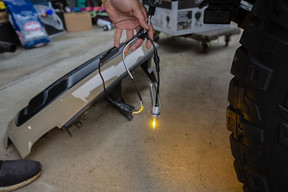 Xenon Depot H11 LED Pro Yellow Fog Light Install - 3rd Gen Tacoma