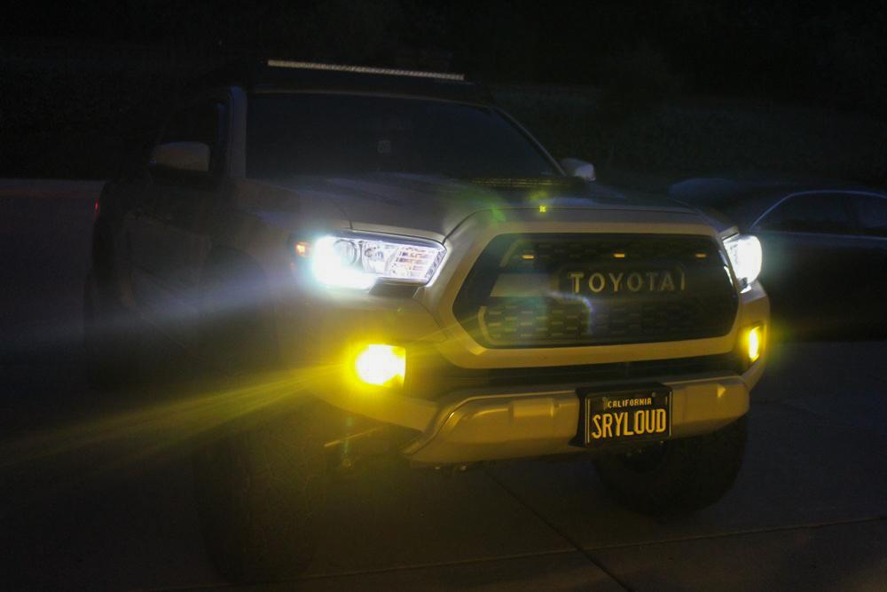 Xenon Depot H11 LED Pro Yellow Fog Light Output - 3rd Gen Tacoma
