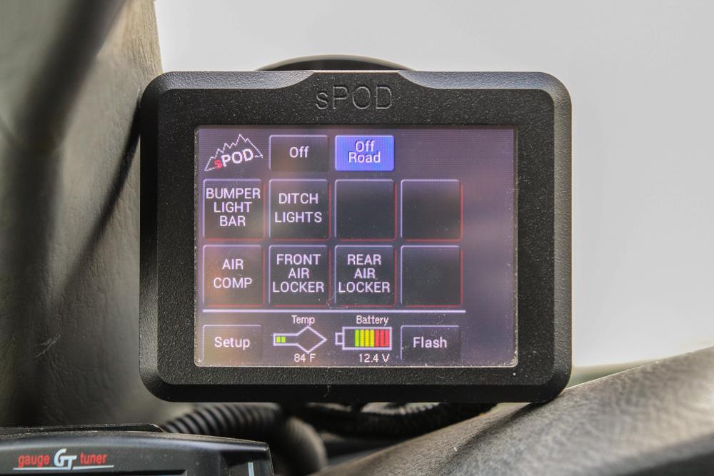 sPOD Light & Locker Controller Switch for Tacoma