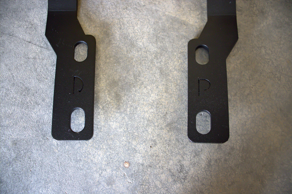Ditch Light Brackets for Tacoma (Driver and Passenger)