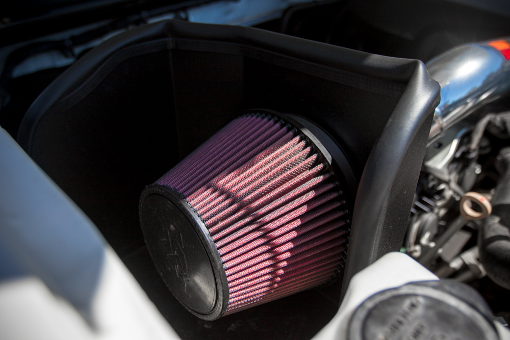 K&N 77 High Flow Cold Air Intake Filter on 3rd Gen Tacoma