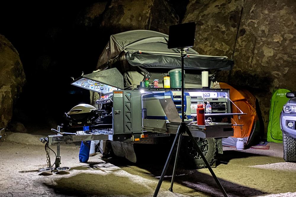Patriot Camper X1 Kitchen Setup