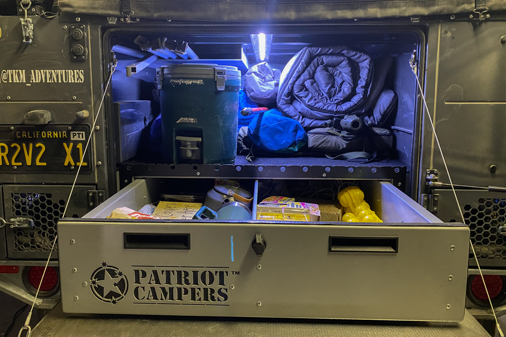 Patriot Campers X1 Storage