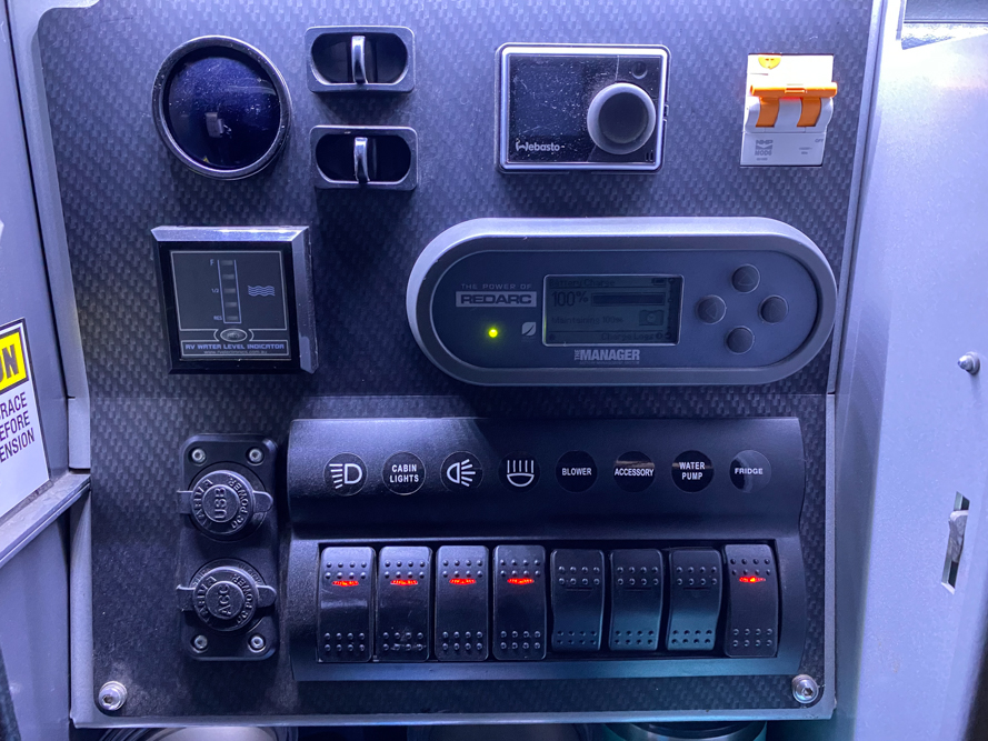 Patriot Campers X1 Power & Control Center