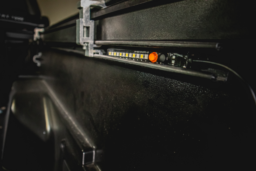 Sloop Imports LED Light Strip in Tacoma Bed