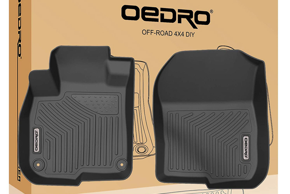 OEDRO Front Floor Liner Set for 3rd Gen Tacoma