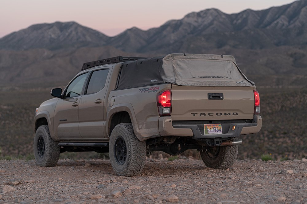 Black Softopper Soft Top Bed Cover for 3rd Gen Tacoma - Review