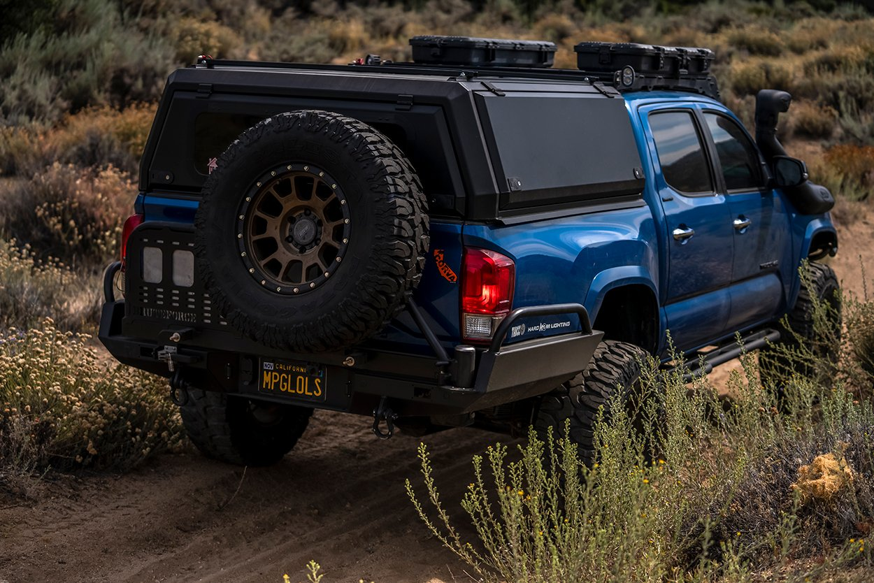 3rd Gen Tacoma Camp King Industries Hard Shell Camper