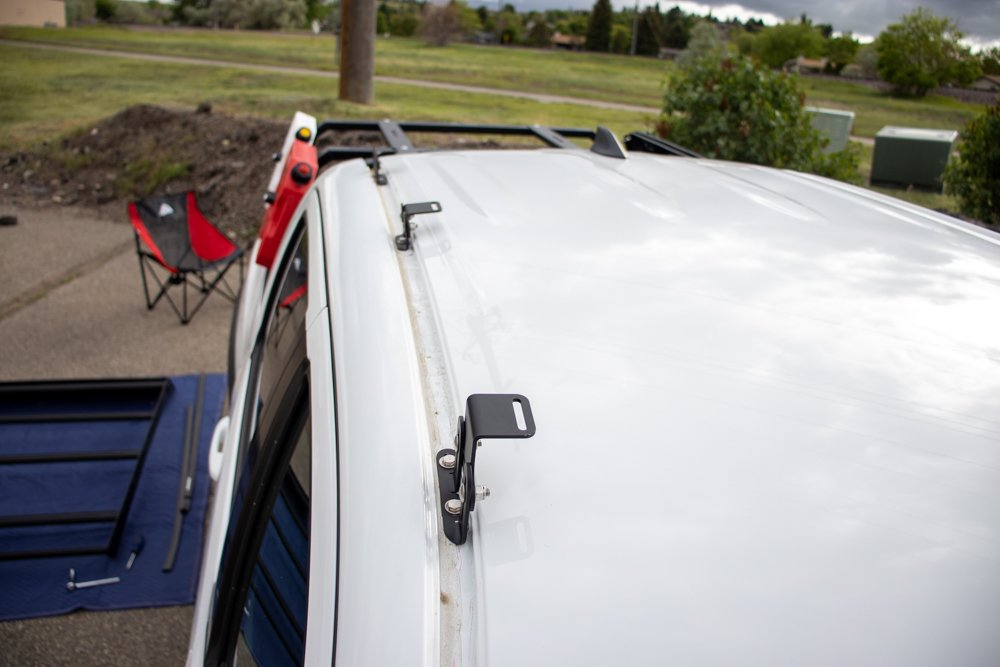 Installing Brackets for AL Offroad 3rd Gen Tacoma Roof Rack