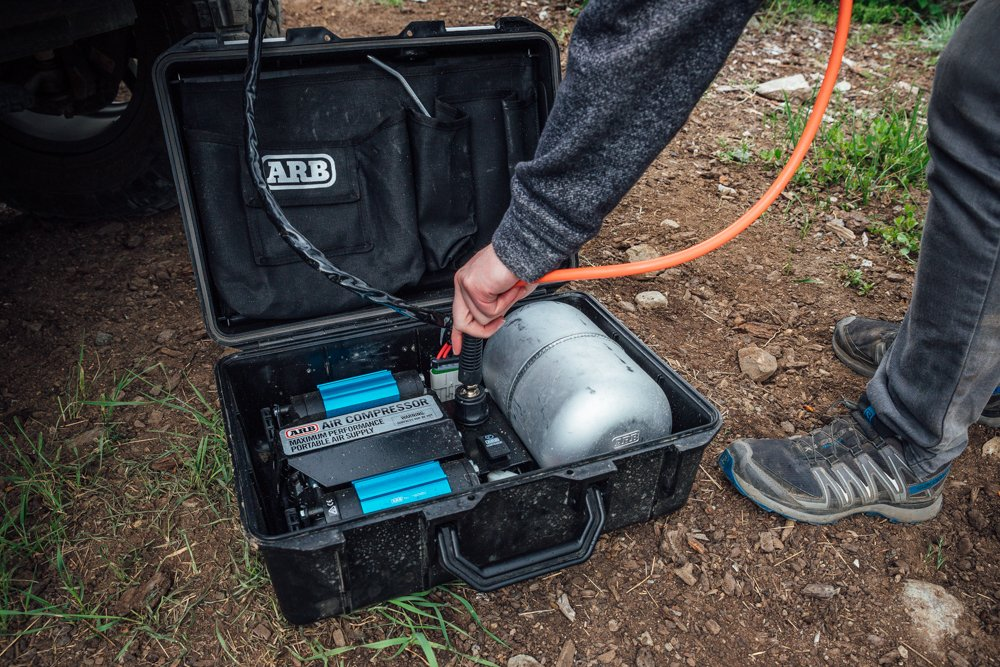 ARB Twin Motor Portable Air Compressor CONS