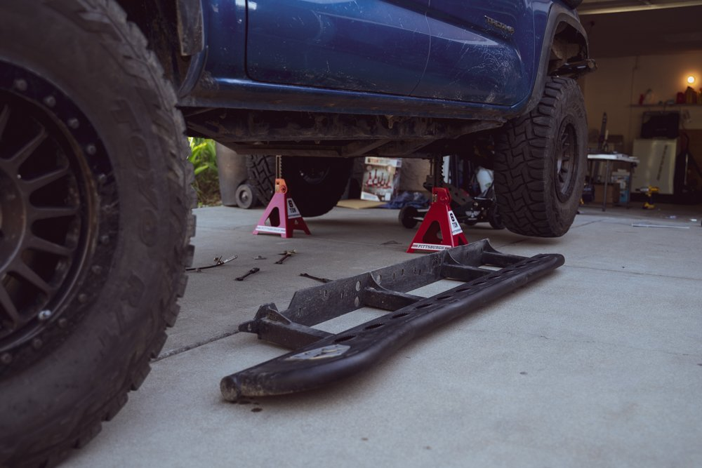 RSG Offroad Rock Slider Install for 3rd Gen Tacoma
