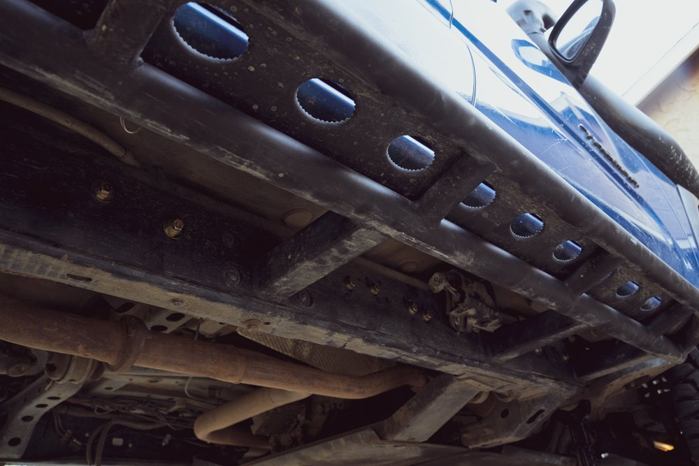 RSG Offroad Passenger Side Bolt-On Rock Slider Install on 3rd Gen Tacoma