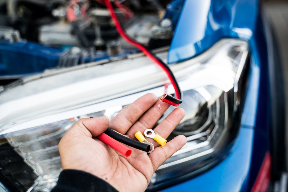 Adding Ring Terminals for DIY Power Inverter Install
