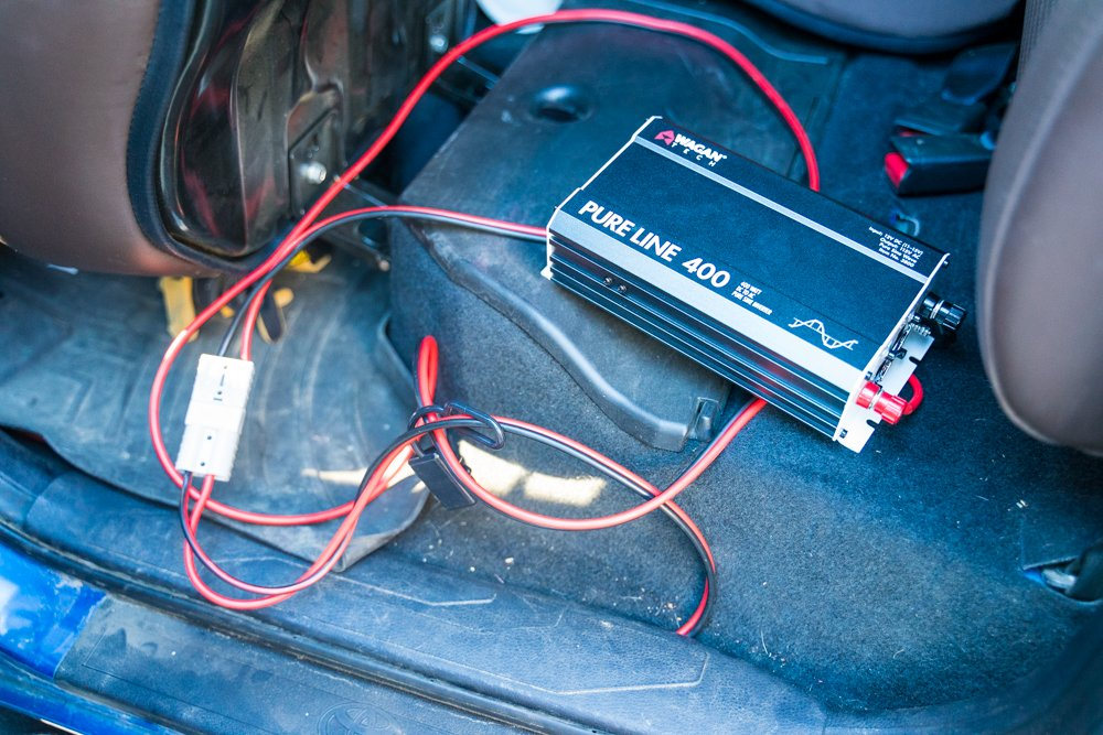 Wagan Tech 400W Pure Sine Wave Inverter Step-By-Step Install in 3rd Gen Tacoma