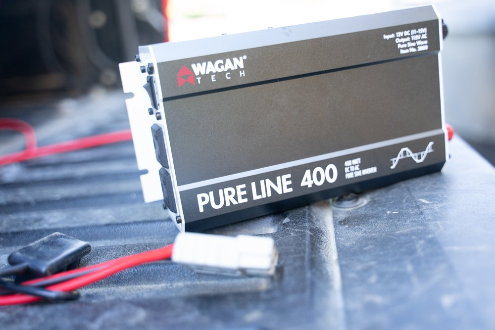400W DC to AC Pure Sine Inverter Install in Toyota Tacoma