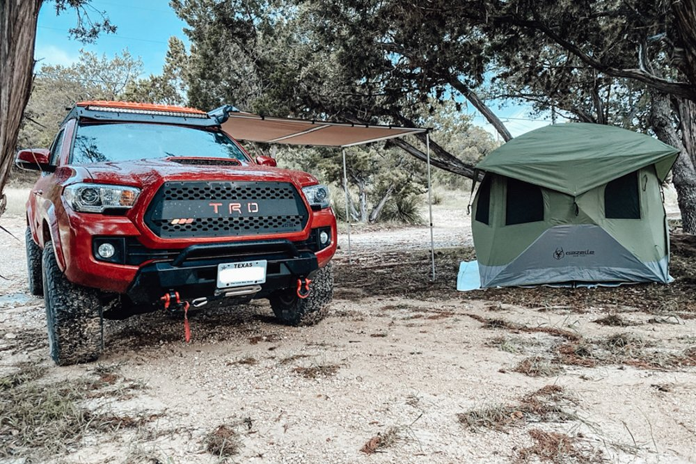 Camping in a Gazelle T3 Hub Tent