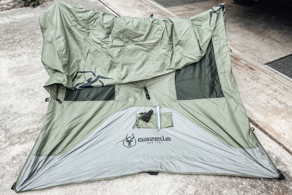Setting Up and Deploying Gazelle T3 Hub Tent