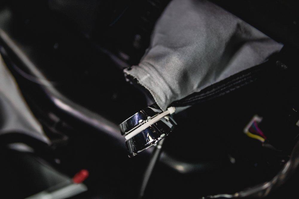 Shift Knob Install - Removing Shift Boot Collar