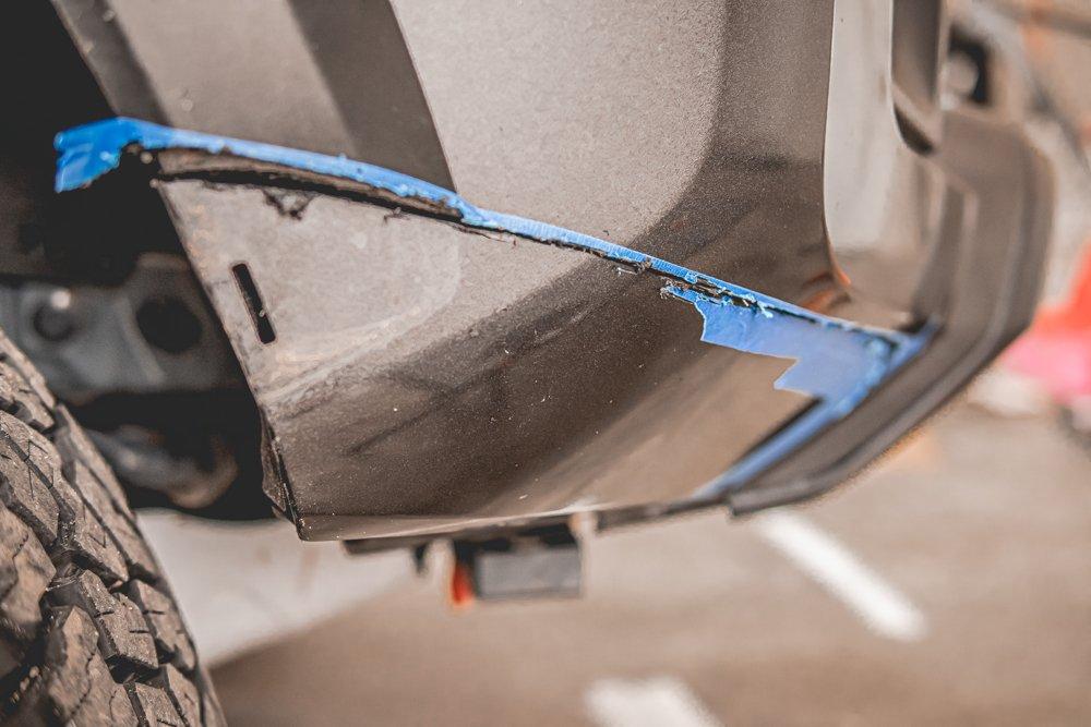 Cutting Front Bumper, Viper Cut - 3rd Gen Tacoma
