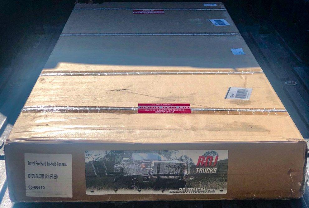 RDJ Trucks Tri-Folding Bed Cover for 2nd Gen Tacoma