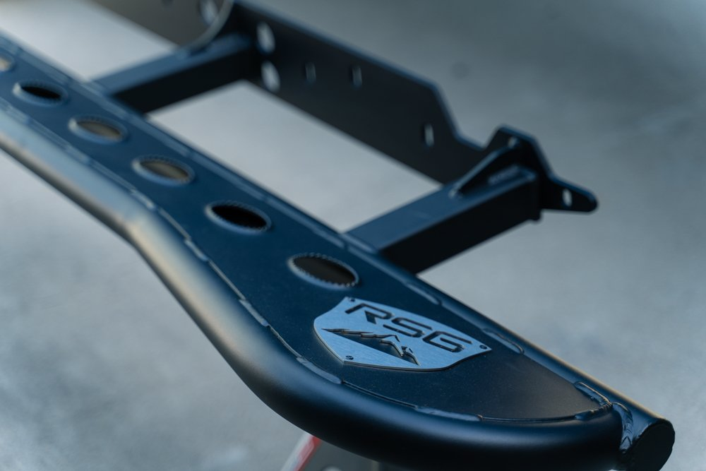 RSG (Remote Start Guys) Rock Slider with Grip Top Plate for 3rd Gen Tacoma