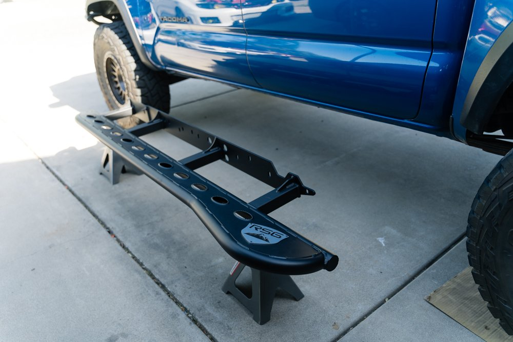 RSG Offroad Rock Slider Install on 3rd Gen Tacoma