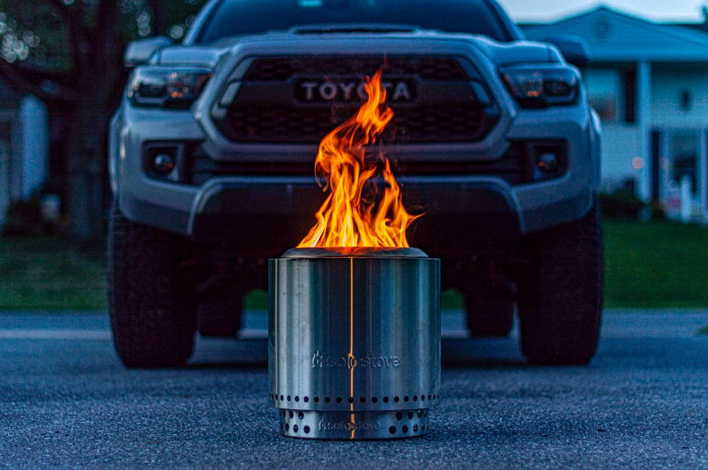 Solo Stove Ranger - Stainless Steel Wood Burning Fire Pit Review