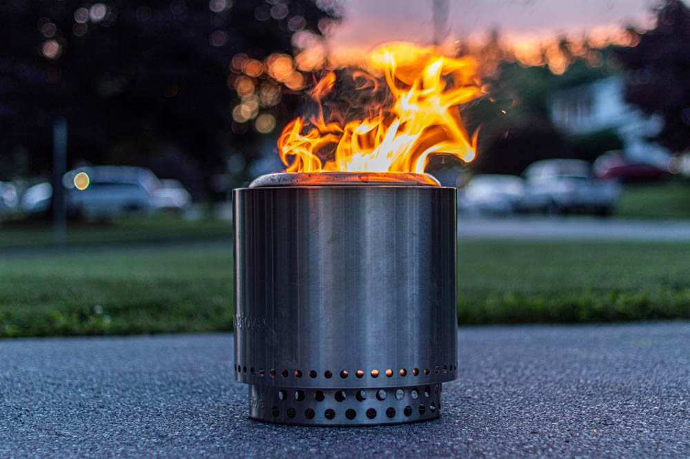 Solo Stove Ranger Impressions - Stainless Steel Portable Fire Pit