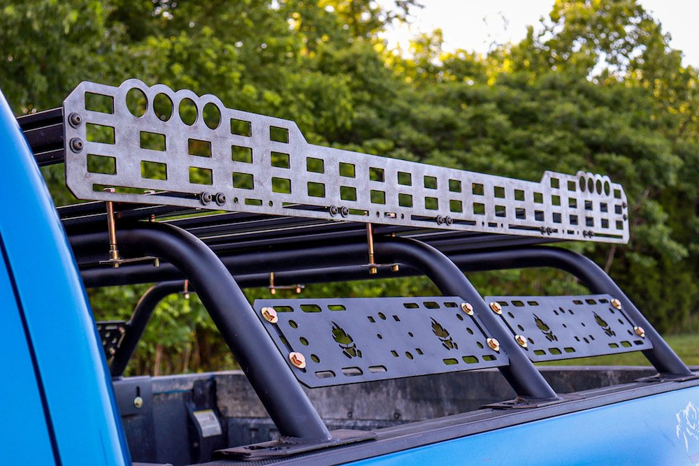 Tacoma Pocalypse Mid-Height Bed Rack & Limited Cargo Rack on 3rd Gen Tacoma
