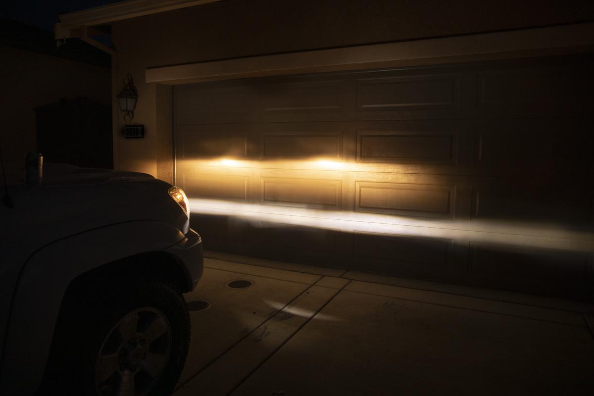 Morimoto XB LED fog light beam pattern
