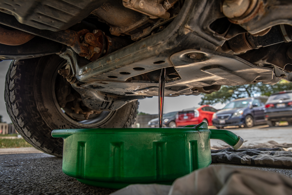 How to Change the Oil on 3rd Gen Toyota Tacoma