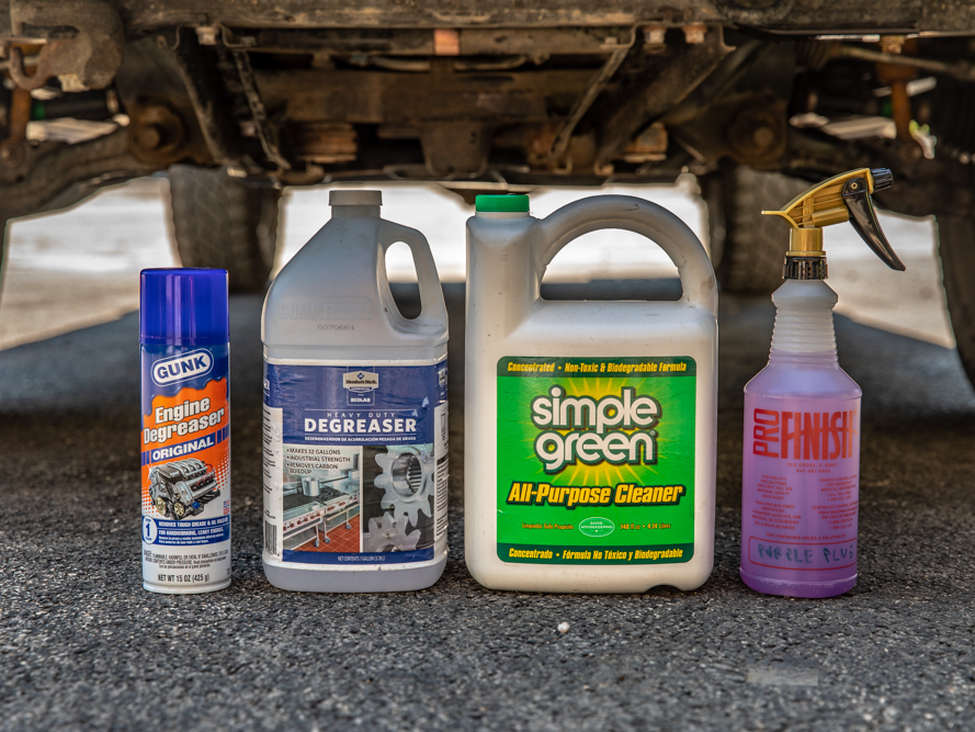 Supplies & Products for Cleaning Engine Bay